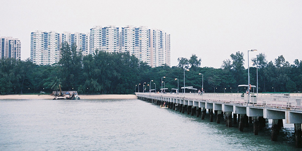 Bedok Jetty, Singapore kite spot